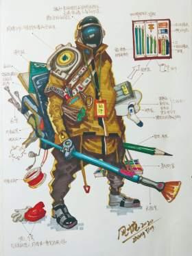济南风塘画室设计图2