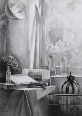 济南丹青画室素描图2