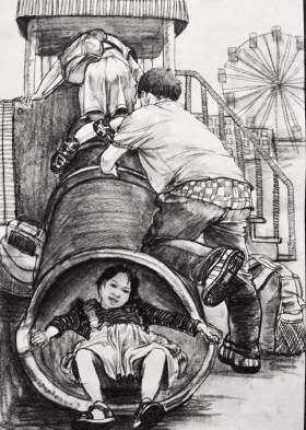 济南丹青画室速写图8