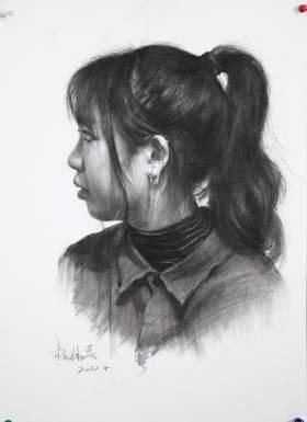 济南丹青画室素描图8