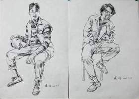 济南丹青画室速写图4