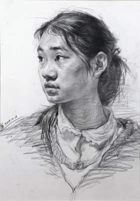 济南丹青画室素描图1