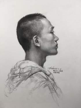 郑州八一画室素描图3
