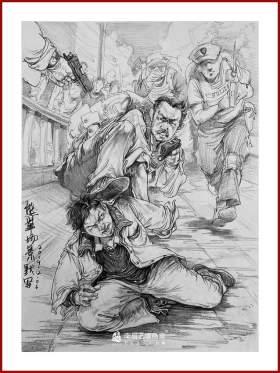 南昌艺境美术速写图4