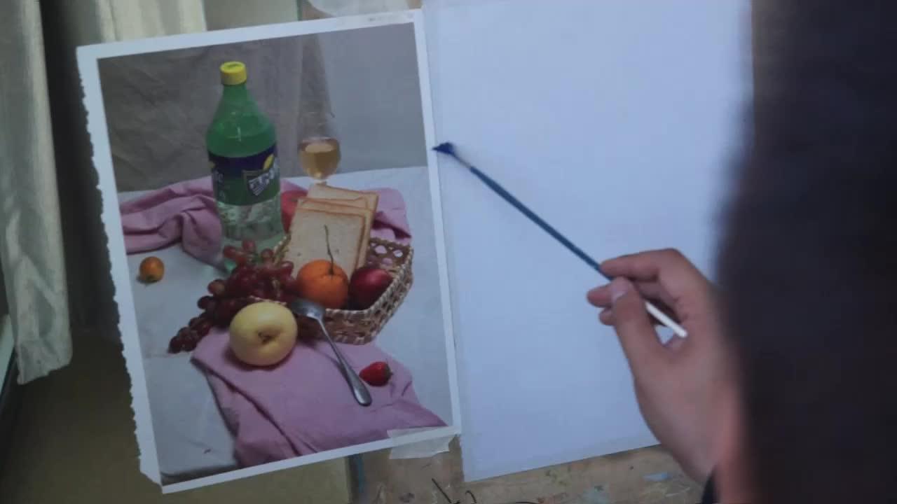 不会画雪碧和面包的同学不要错过哦,请链接WIFI观看,土豪随意。