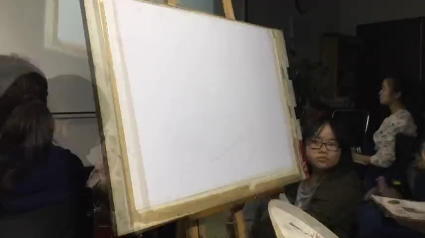 吕校长设计色彩范画