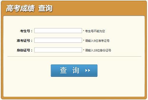 【成绩查询】四川省高考成绩查询,内附往分数线