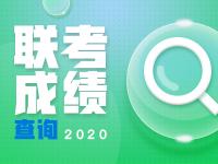 【联考查分】2020届各省市联考成绩闪电查询入口