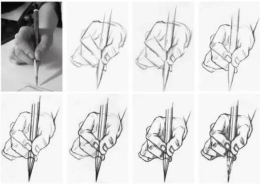 【速写干货】画速写手还不会画一定要收藏!手部结构解剖分析讲解!